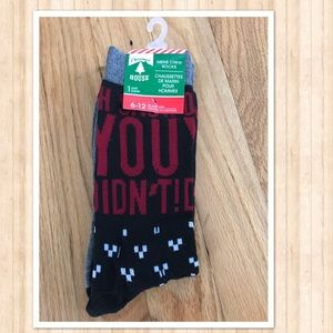 Other - Men's Christmas holiday socks! New!